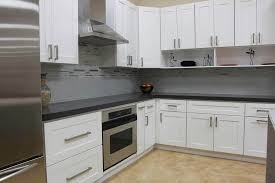 white shaker corner kitchen cabinet commercial cabinets kitchensbyus