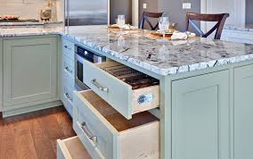 blue kitchen cabinets with granite countertops granite counters jackson stoneworks