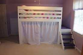 Ana White Camp Loft Bed With Stair Junior Height Diy Projects by Ana White Loft Bed Diy Projects