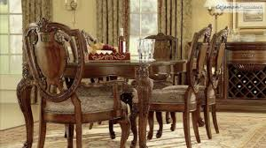 old world dining room tables old world leg dining room collection from art furniture youtube