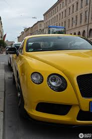 bentley yellow bentley continental gt v8 s 26 september 2014 autogespot