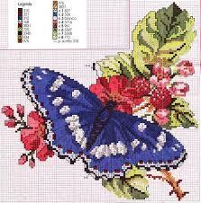 111 best cross stitch butterflies images on