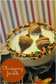 fall acorn pudding thanksgiving ideas for spaceships and