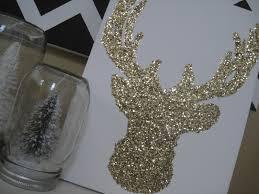daisy dreaming glitter reindeer