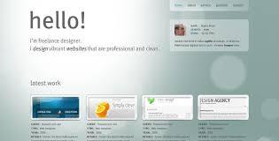 designer freelancer freelance designer personal portfolio template by segen