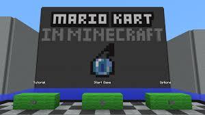 Minecraft Map Editor Mario Kart In Minecraft Map For Minecraft 1 11 2 Minecraftsix