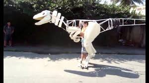 velociraptor costume i made a velociraptor suit by fábio silva