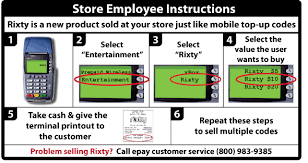 prepaid account rixty support how do i load my account with a rixty prepaid card