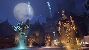 halloween castle background overwatch u0027s halloween terror event kicks off halloween countdown