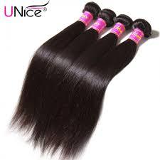 human hair extension 4 bundles unice peruvian human hair extensions unice