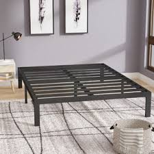 Raised Bed Frame Xl Bed Frame For Adults Wayfair