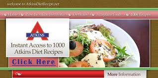 low carb atkins diet recipes acceptable foods