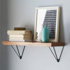 Oak Bookshelves For Sale by Reclaimed Wood Shelving Brackets West Elm