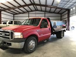 Ford 3500 Diesel Truck - ford f 350 super duty drw flatbed for sale in greenville tx 75402