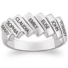 Custom Rings With Names 107 Best Sterling Silver Mothers Rings Images On Pinterest