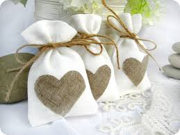 wedding items wedding favor bags set of 35 white rustic linen wedding