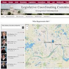 Mn Zip Code Map Minnesota Legislature Geographic Information Services