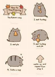 thankful pusheen thanksgiving and pusheen cat