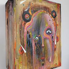 artwork on wood the box mixmedia on wood ucon benpeeters hertkore mixmedi flickr