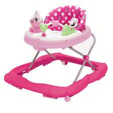 Pink Swinging Baby Chair Disney Music U0026 Lights Walker Minnie Dot