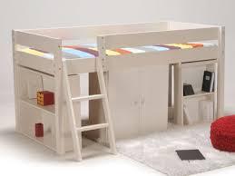lit enfant avec bureau lit combiné avec bureau et rangement couchage 90x190cm