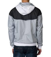 deals hoodie mens nike white sportswear nike windrunner fl zip