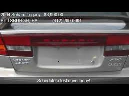 412 gt for sale 2004 subaru legacy gt awd 4dr sedan for sale in pittsburgh