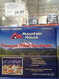 Mountain House Food Mountain House 10 Pack 29 97 Costco Archive Calguns Net