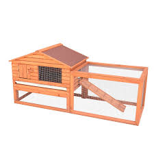 outdoor white wash rabbit hutches in 2 tier for pet house ideas