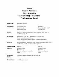 Job Resume Sample No Experience by High Students With No Experience Template Student