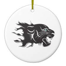 black white panther ornaments keepsake ornaments zazzle