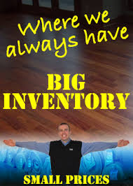 the floor trader big inventory small prices