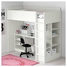 stuva loft bed combo w 2 shlvs 3 shlvs white 207x99x193 cm ikea