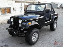 cj jeep wrangler jeep cj7 4x4 v8 304 black beach cruiser price reduced classic