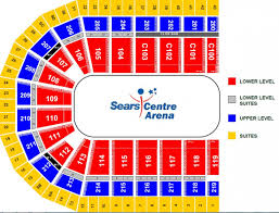 seating charts sears centre arena sears centre arena download pdf