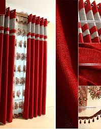 Red Curtains In Bedroom - charming silver and red curtains 40 about remodel kitchen curtains