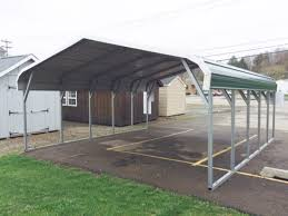 houses with carports 18 x 21 bent bow carport pine creek structures