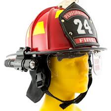 streamlight firefighter helmet light foxfury sideslide helmet light with removable flashlight