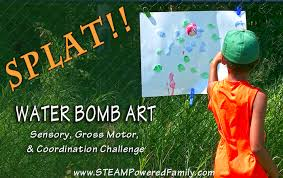 Water Bomb Challenge Water Bomb A Sensory Gross Motor Coordination Challenge