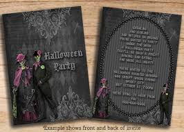 birthday invites inspiring halloween birthday party invitations