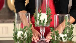 Vases Decor For Home Dollar Tree Christmas Craft Idea Vase With Greenery Youtube