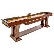 shuffleboard table for sale st louis amazon com well universal 9 5 ft shuffleboard table set sports