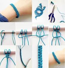 diy braided bracelet with beads images Amazing braided bracelet diy alldaychic jpg