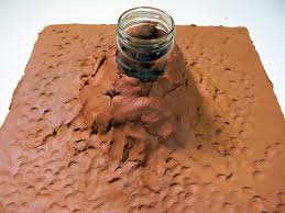 how to make a clay volcano hobbycraft blog