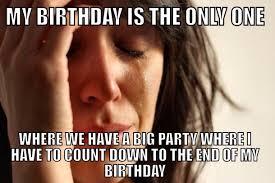 December Birthday Meme - i have a december st birthday meme guy