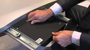 Mount Laptop Under Desk by New Way Of Working Flex Office Notebook Docking Youtube