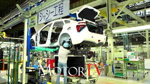 lexus hoverboard fuel car factory 2017 toyota mirai production line l chassis and fuel