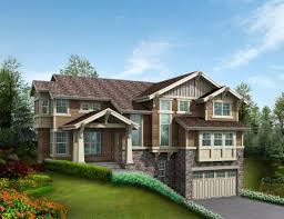 car tandem garage house plans car tandem garage craftsman northwest plan home