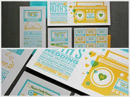 vinyl wedding invitations on fire boombox invitations