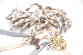 wedding handfasting cord 4 charm celtic wedding fasting binding cord divinity braid